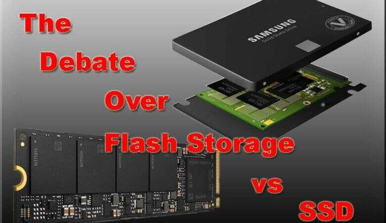 Flash Storage vs SSD