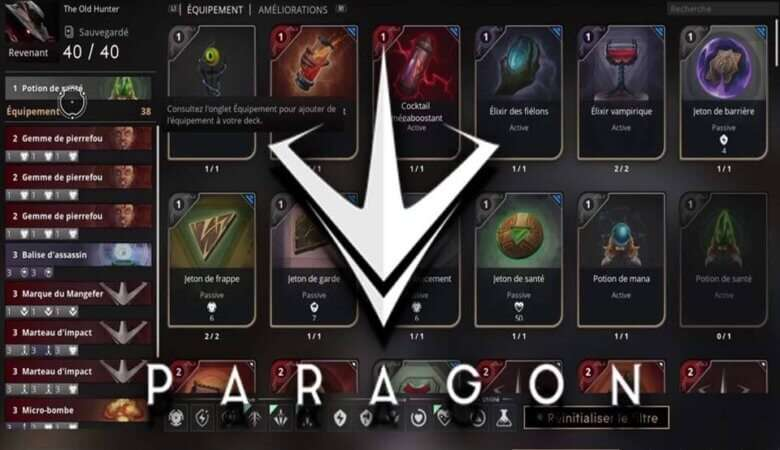 Paragon Deck Builder
