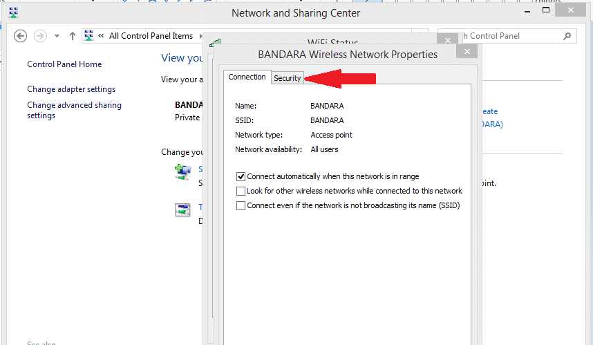 Manage Wireless Networks Windows 10