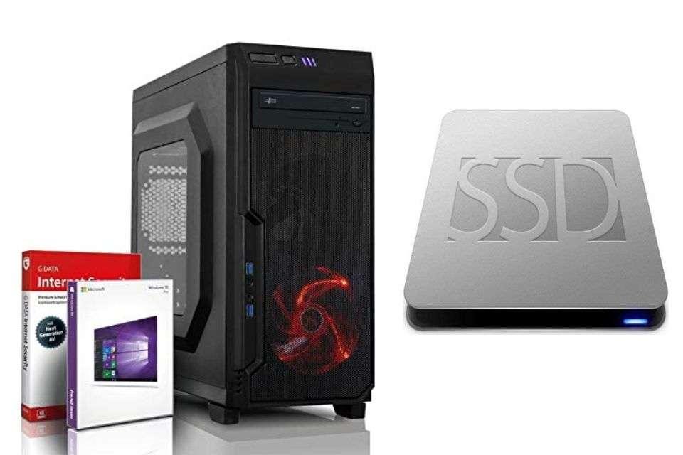 Shinobee SSD Ultra 8-Core Gaming PC/Multimedia