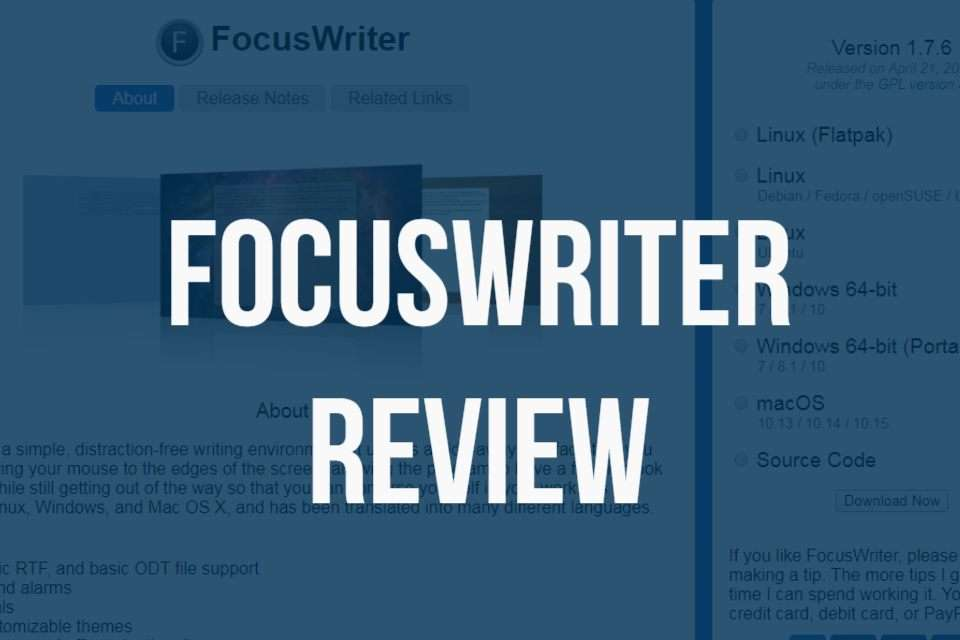 FocusWriter Mac Download